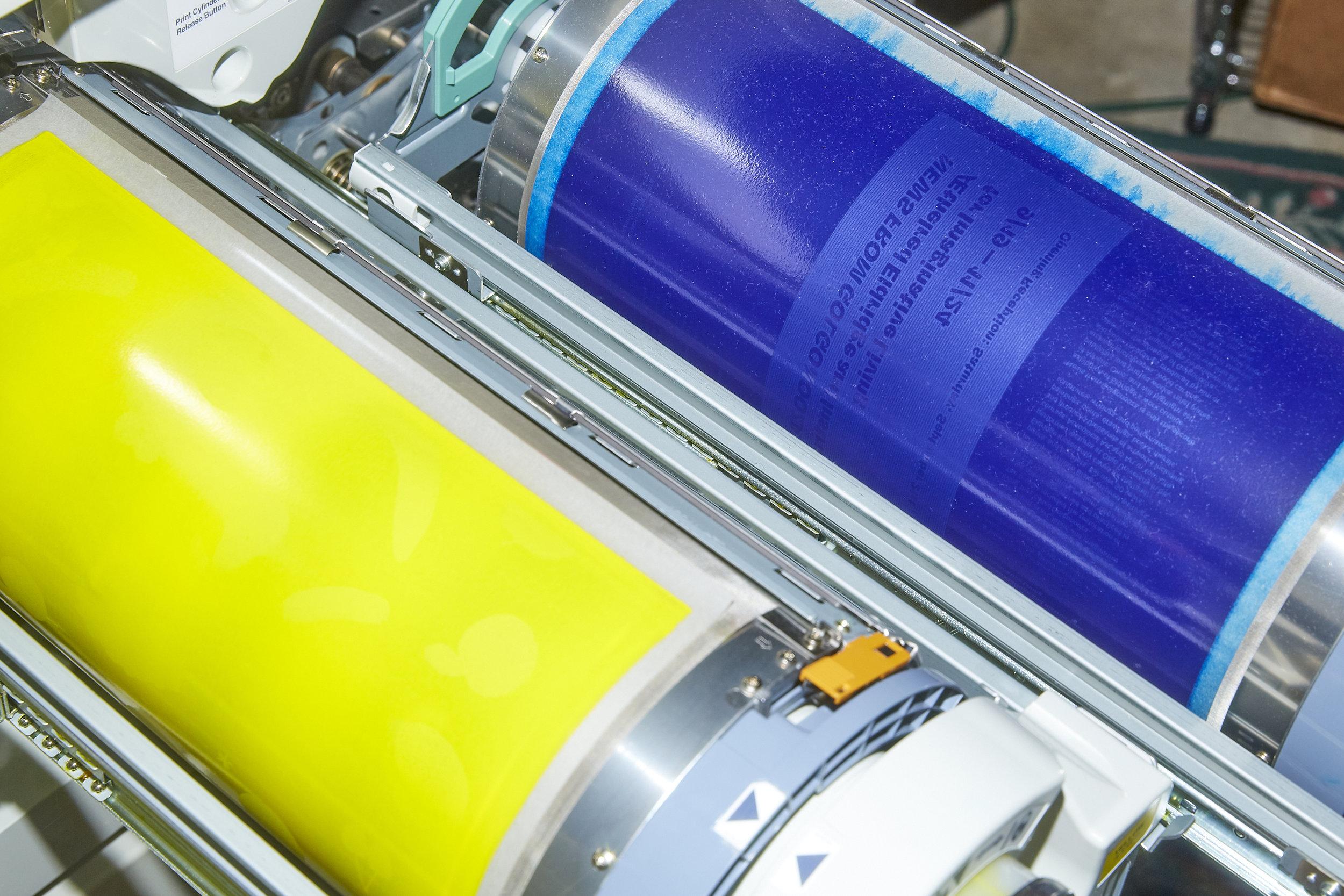 Clatter Press Risograph Printer