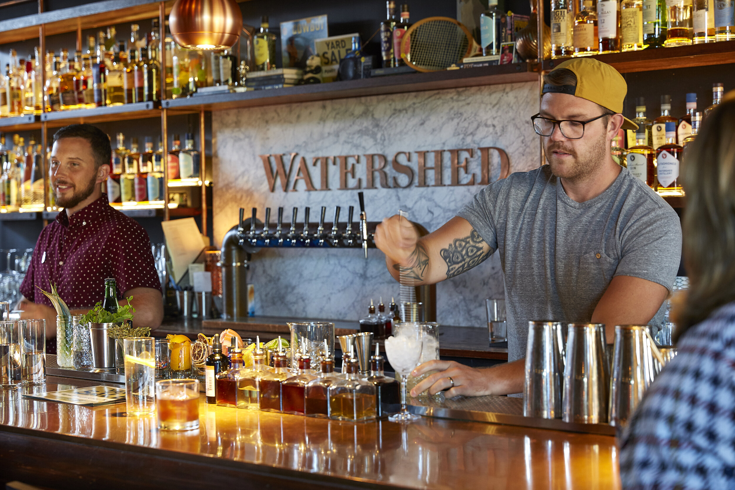 Watershed Kitchen and Distillery for the New York Times