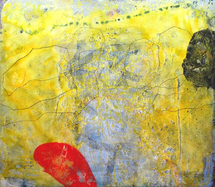 Sense títol,  200 x 185 cms. Pintura sobre tela, 2010.