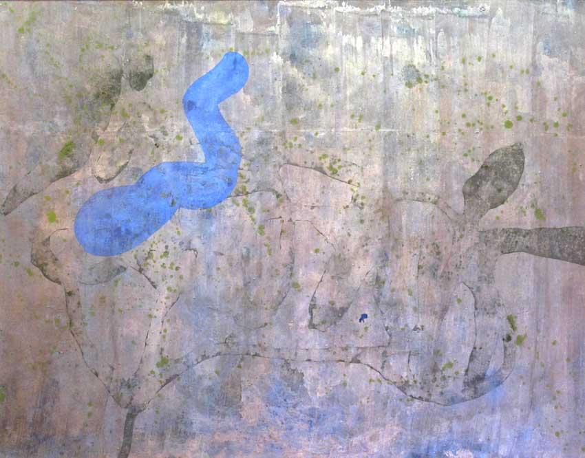 Sense títol,  185 x 155 cms. Pintura sobre tela, 2011.