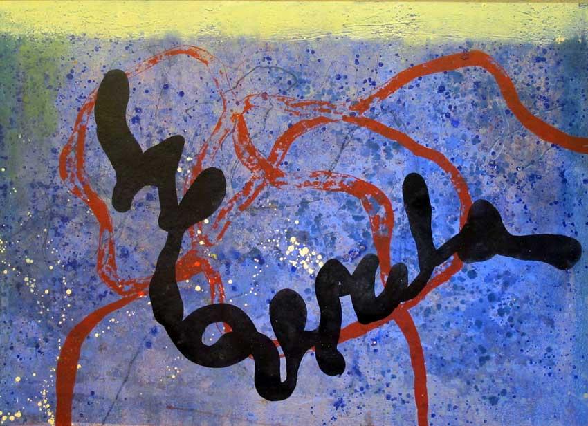 Sense títol,  165 x 135 cms. Pintura sobre tela, 2011.