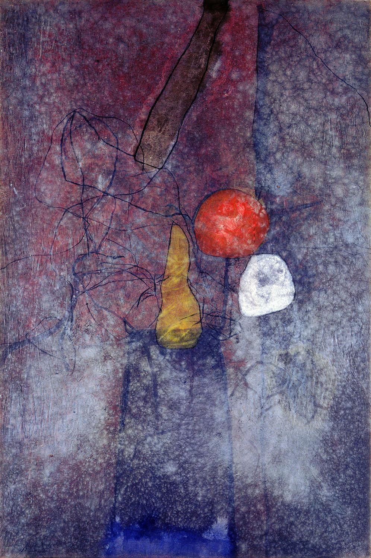 Sense títol,  oli i carbó sobre tela, 200 x 150 centímetres, 1989