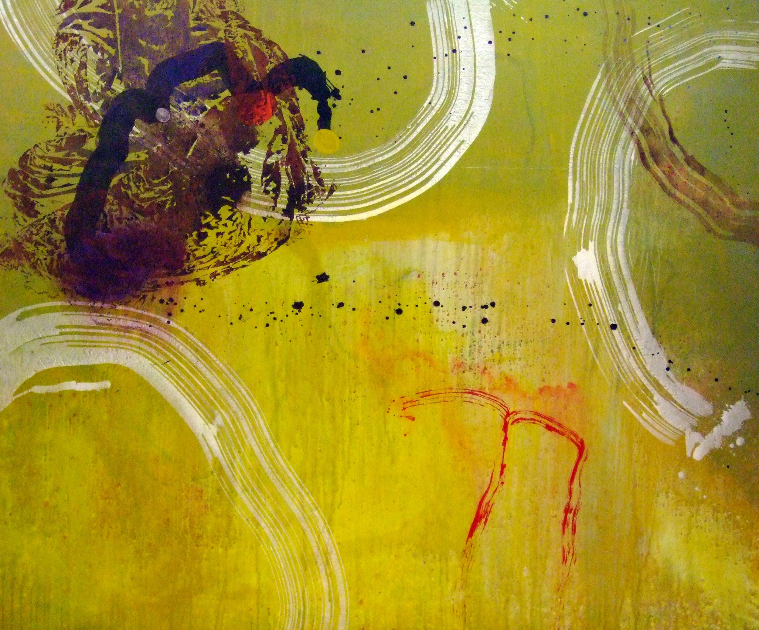 Sense títol,  pintura sobre tela, 160 x 185 centímetres, 2012
