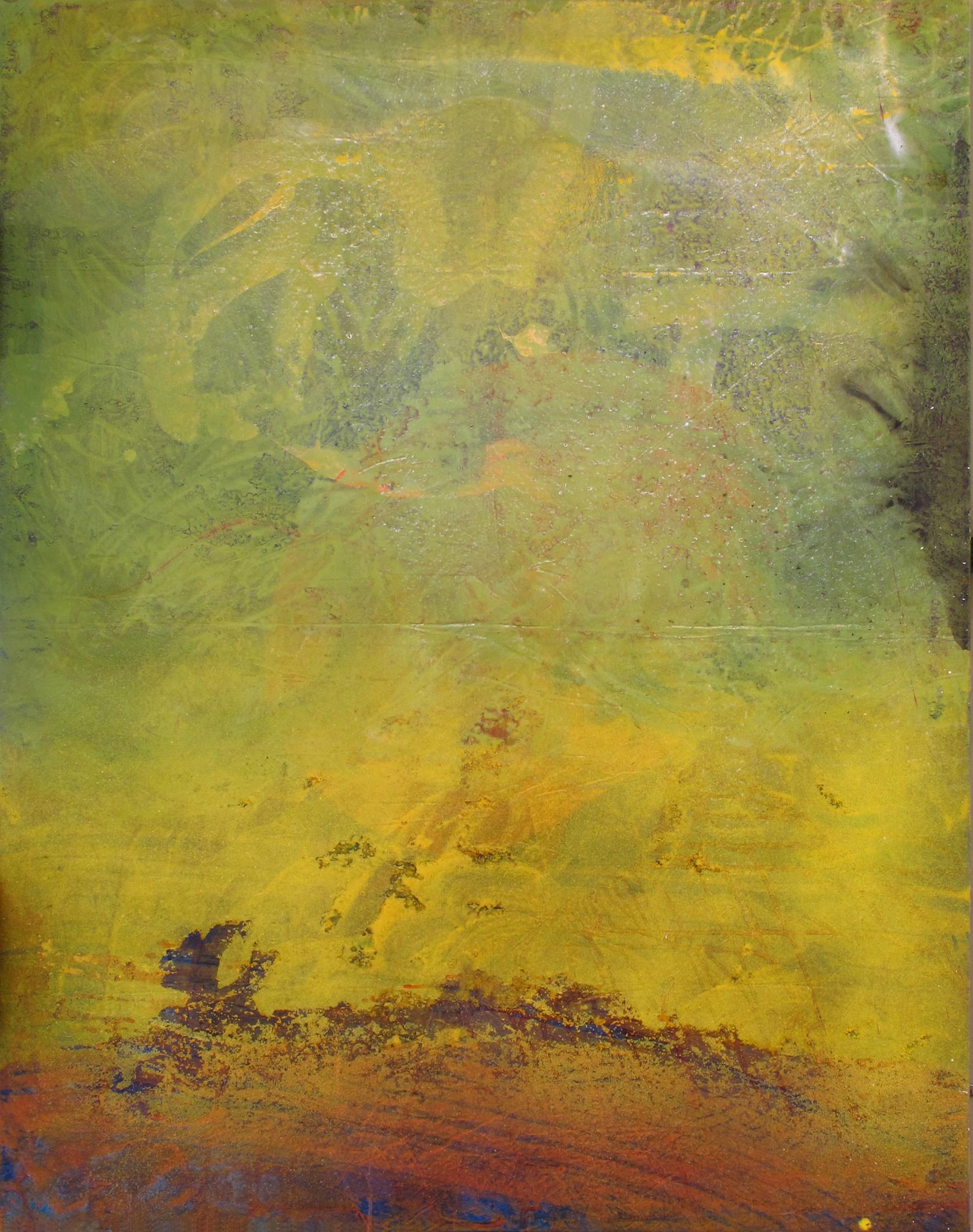Sense títol,  pintura sobre tela, 165 x 135 centímetres, 2007