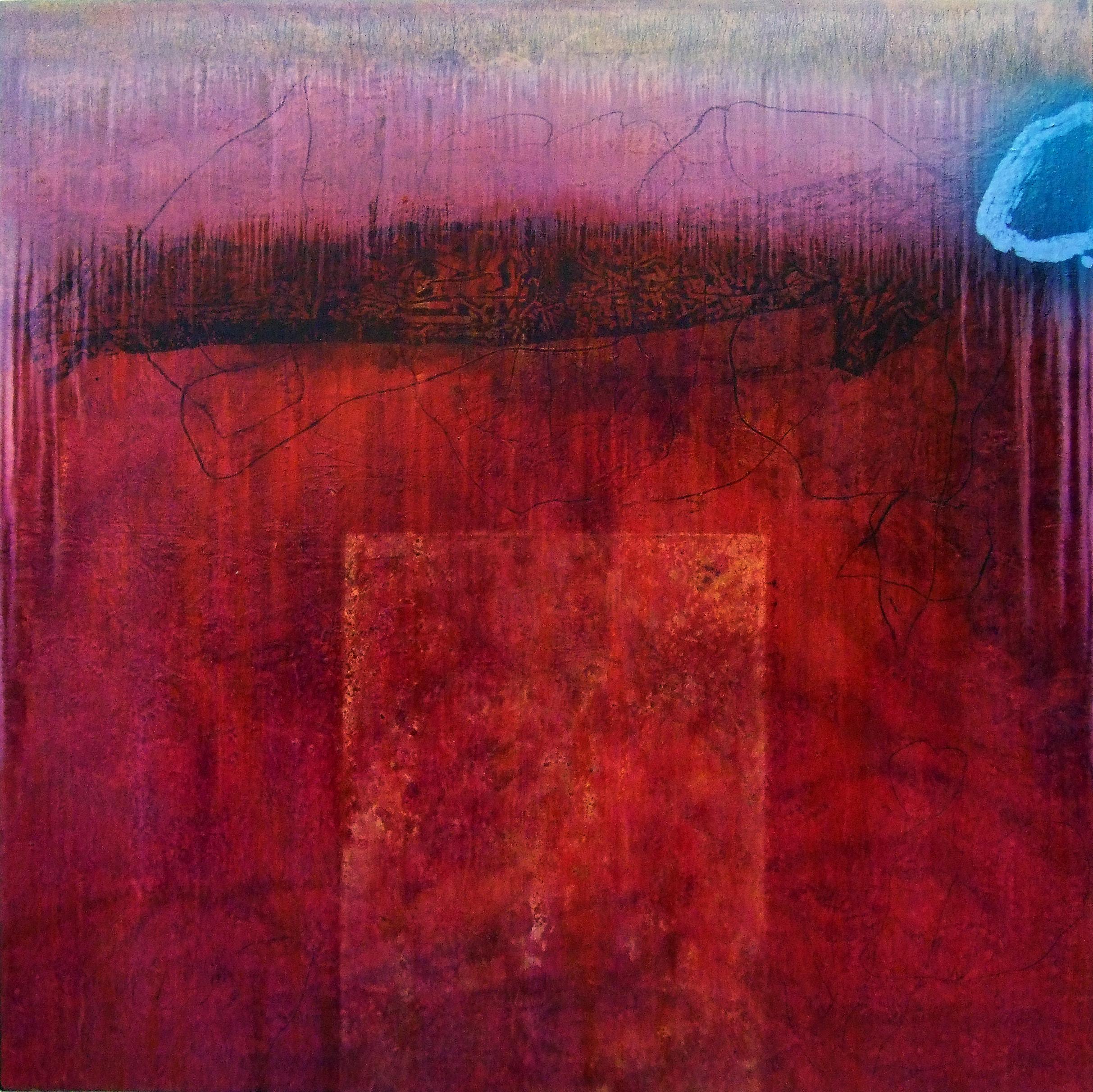 Sense títol,  pintura sobre tela, 160 x 150 centímetres 2007