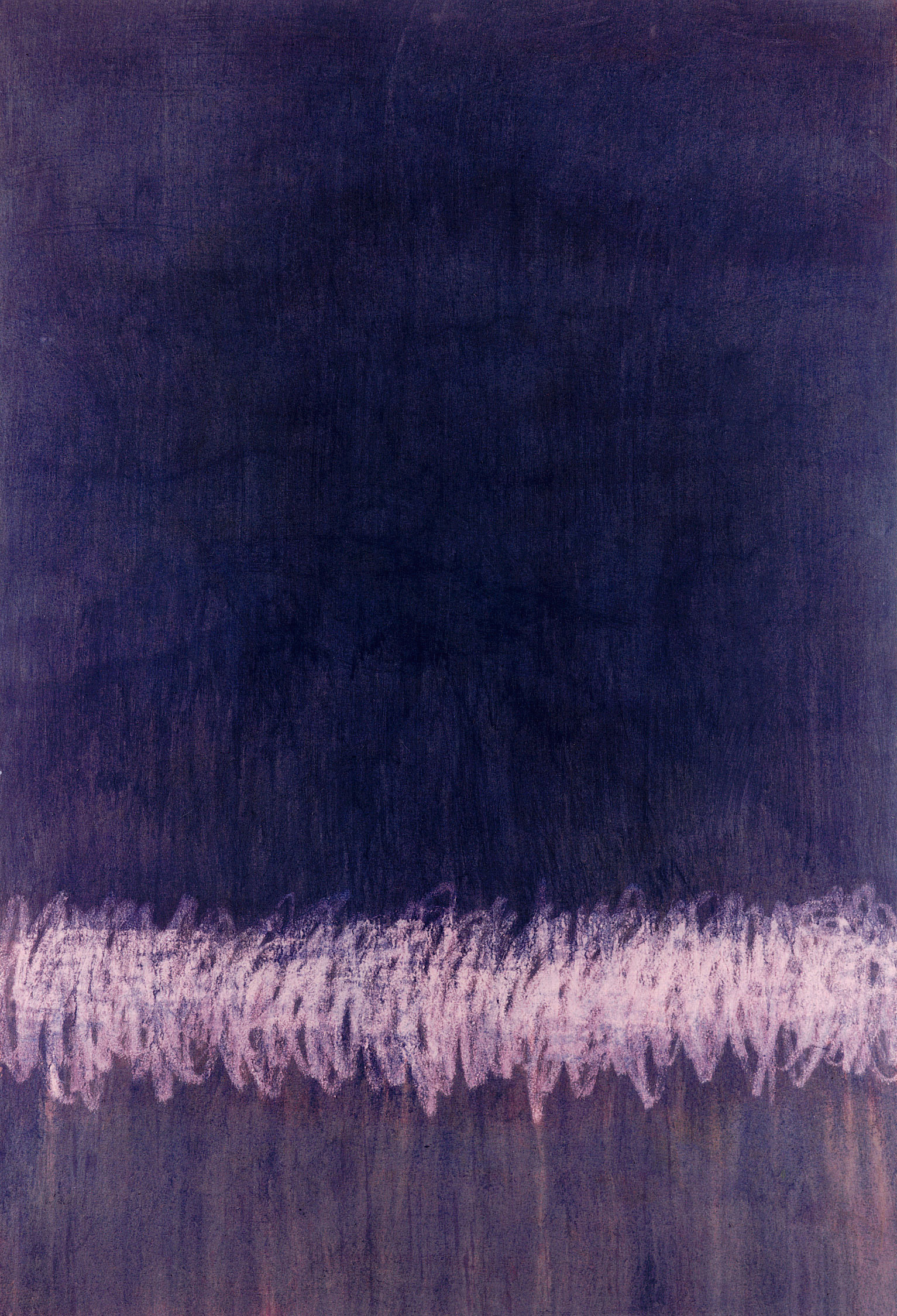 Sense títol,  pintura sobre tela, 195 x 135 centímetres 1996