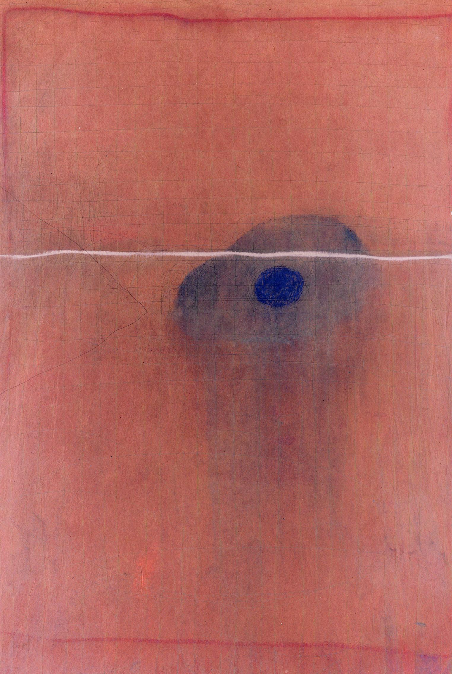 Sense títol,  pintura sobre tela, 195 x 135 centímetres 1999