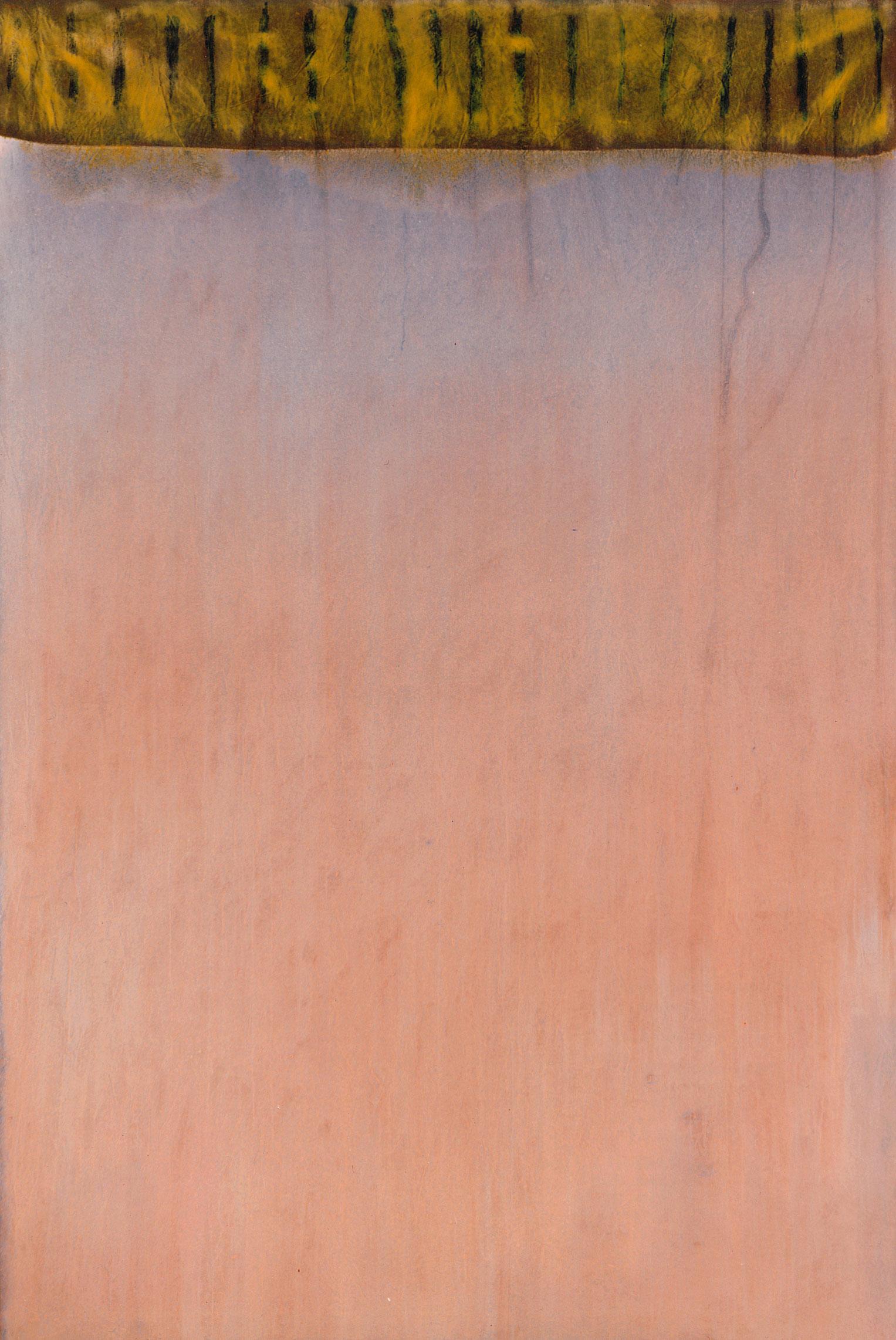 Sense títol,  pintura sobre tela, 195 x 135 centímetres 1993