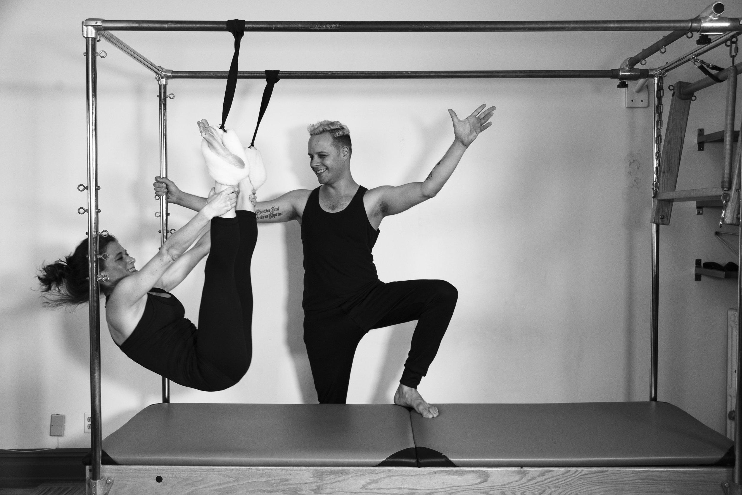 Private Training at BodyTonic Pilates