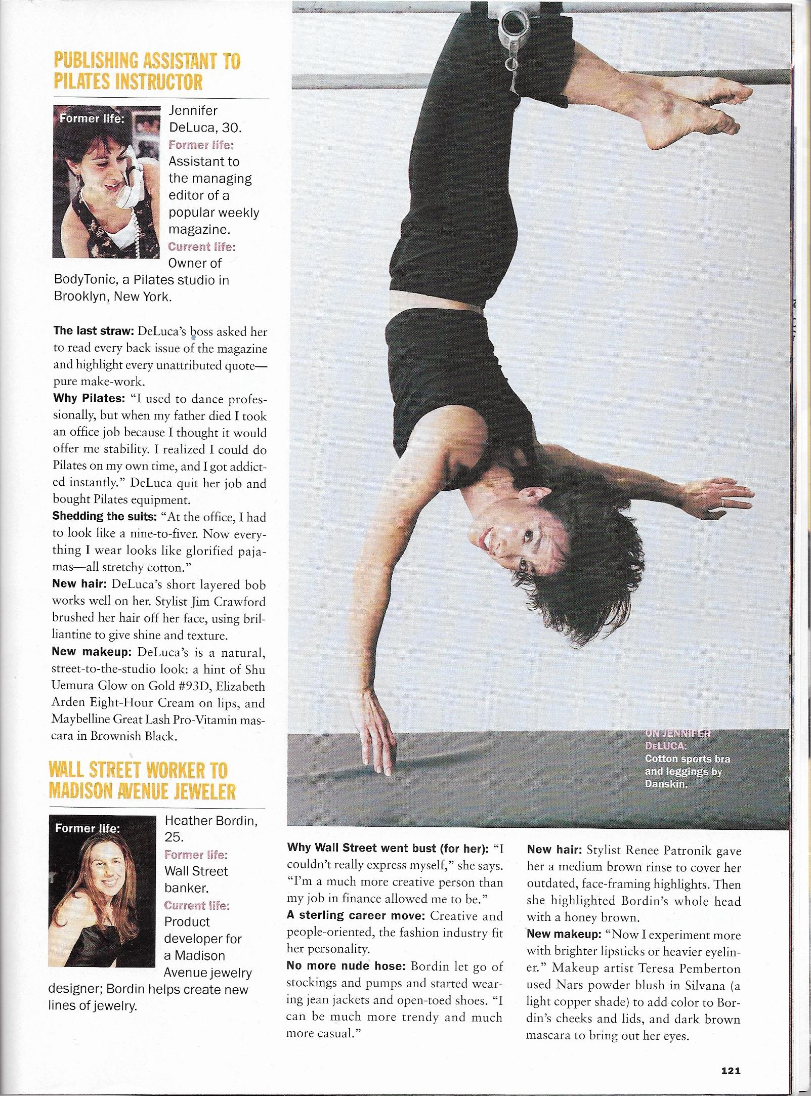 Jennifer DeLuca in Allure Magazine