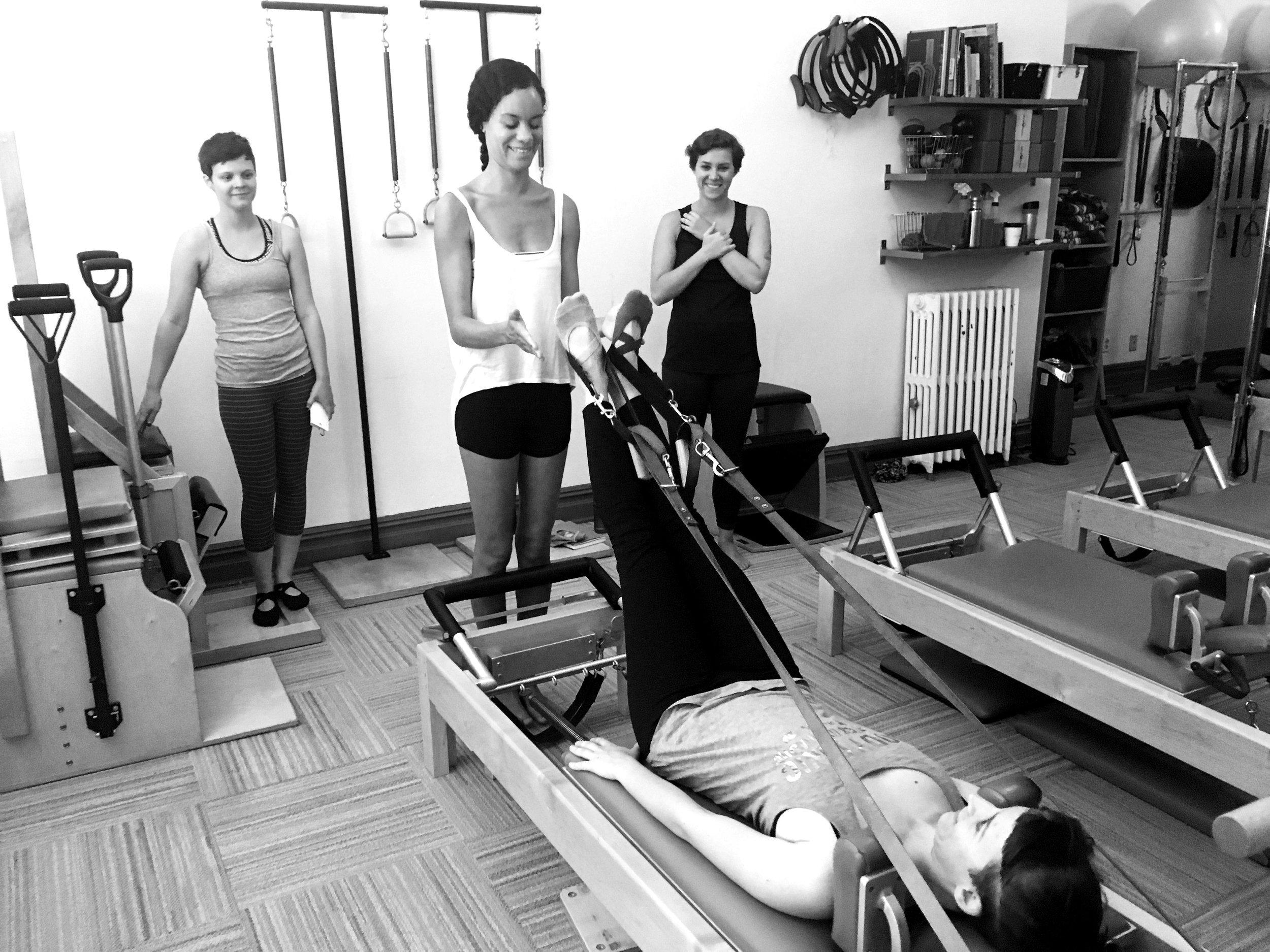 Teacher Training at BodyTonic Pilates