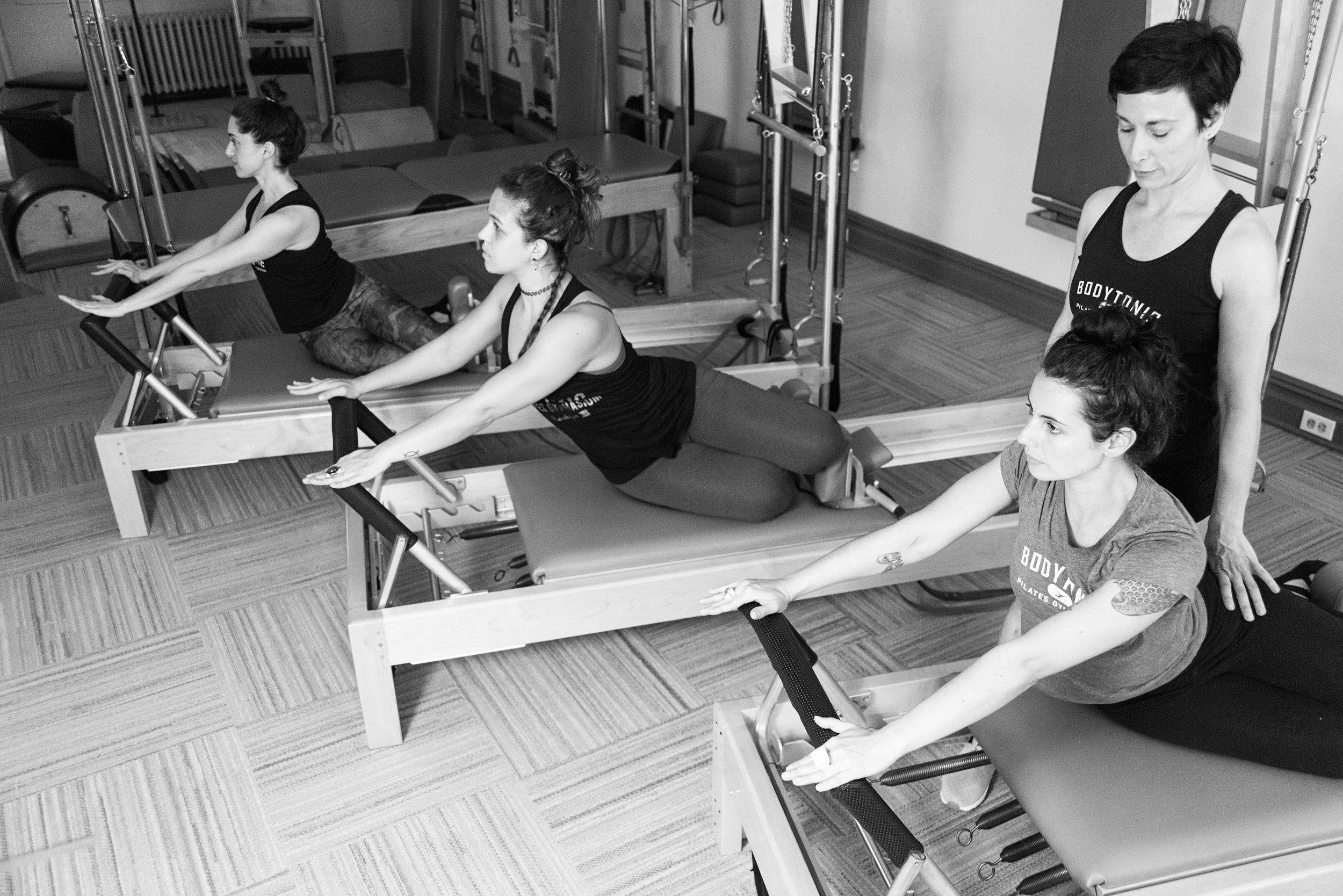 Semi Private Training at BodyTonic Pilates