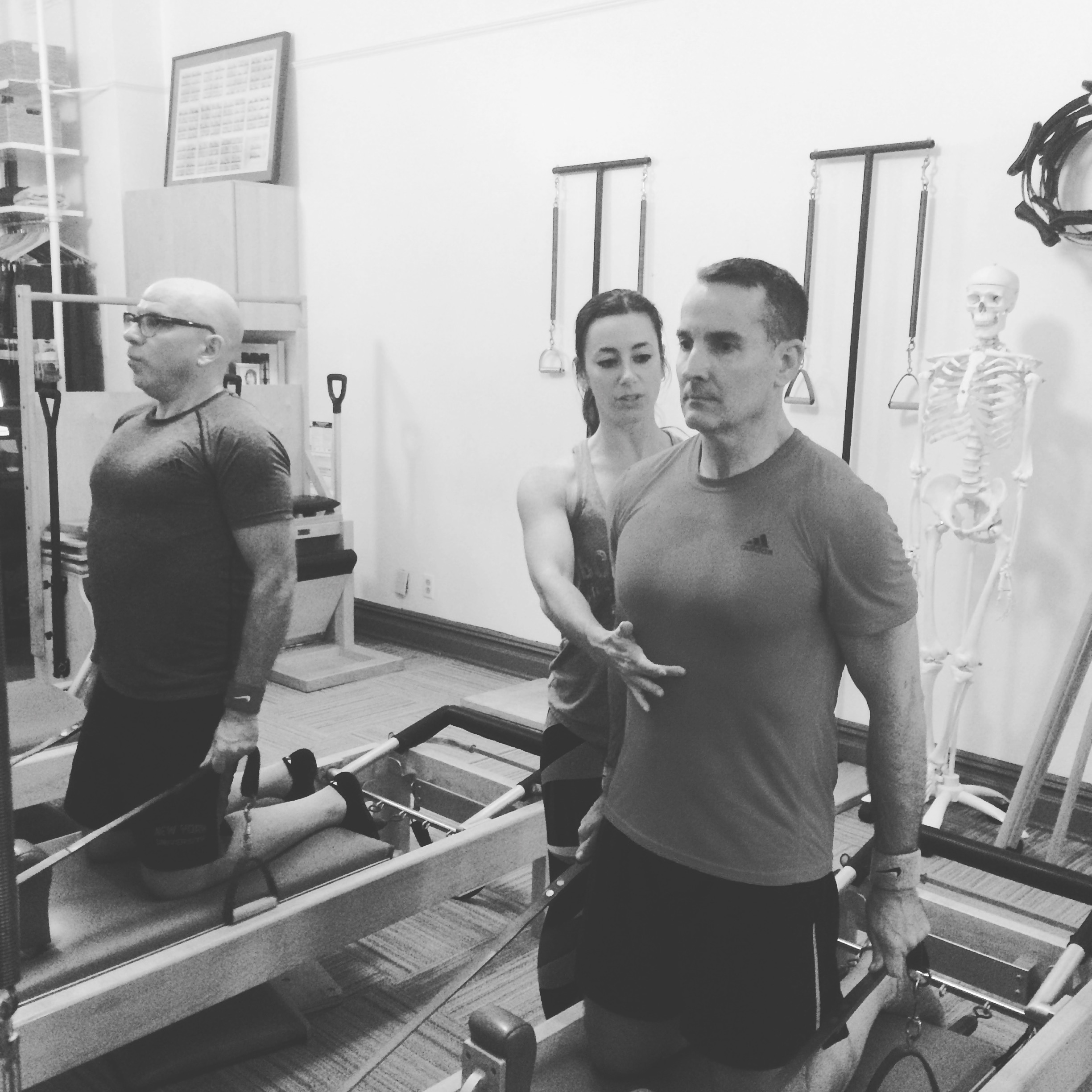 Craig & Paul, BodyTonic Pilates clients