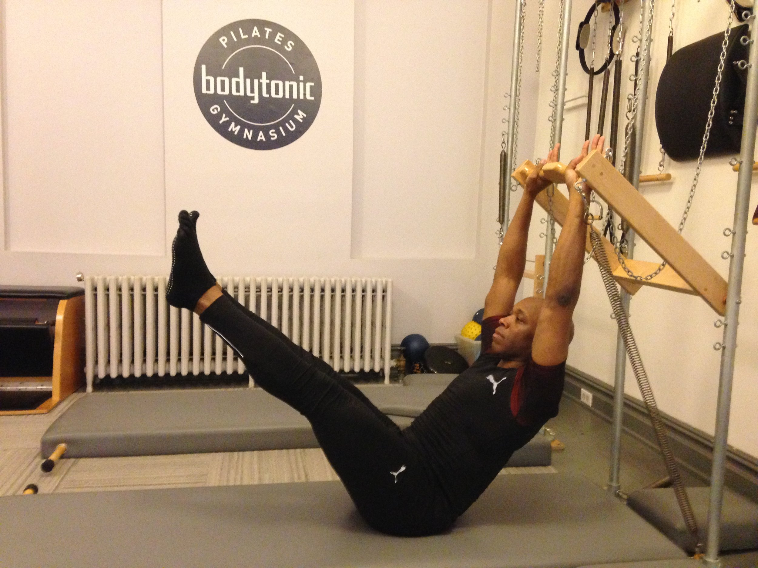 Sean, a BodyTonic Pilates client
