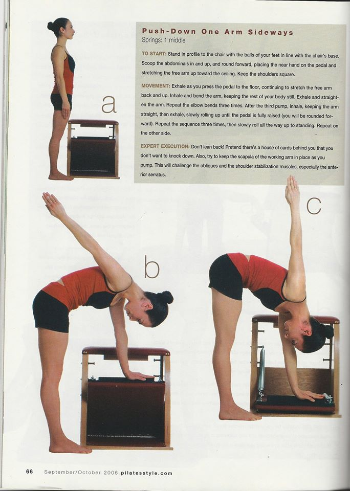 Jennifer DeLuca in Pilates Style Magazine