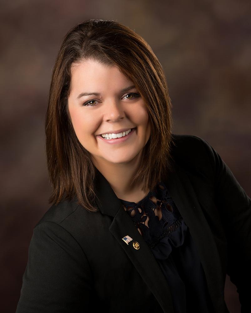 MO State Rep. Hannah Kelly.