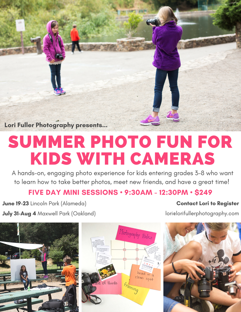 Summer Photography Class for Kids_Lori Fuller Photography