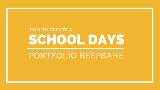 create a school days portfolio keepsake_lori fuller photography