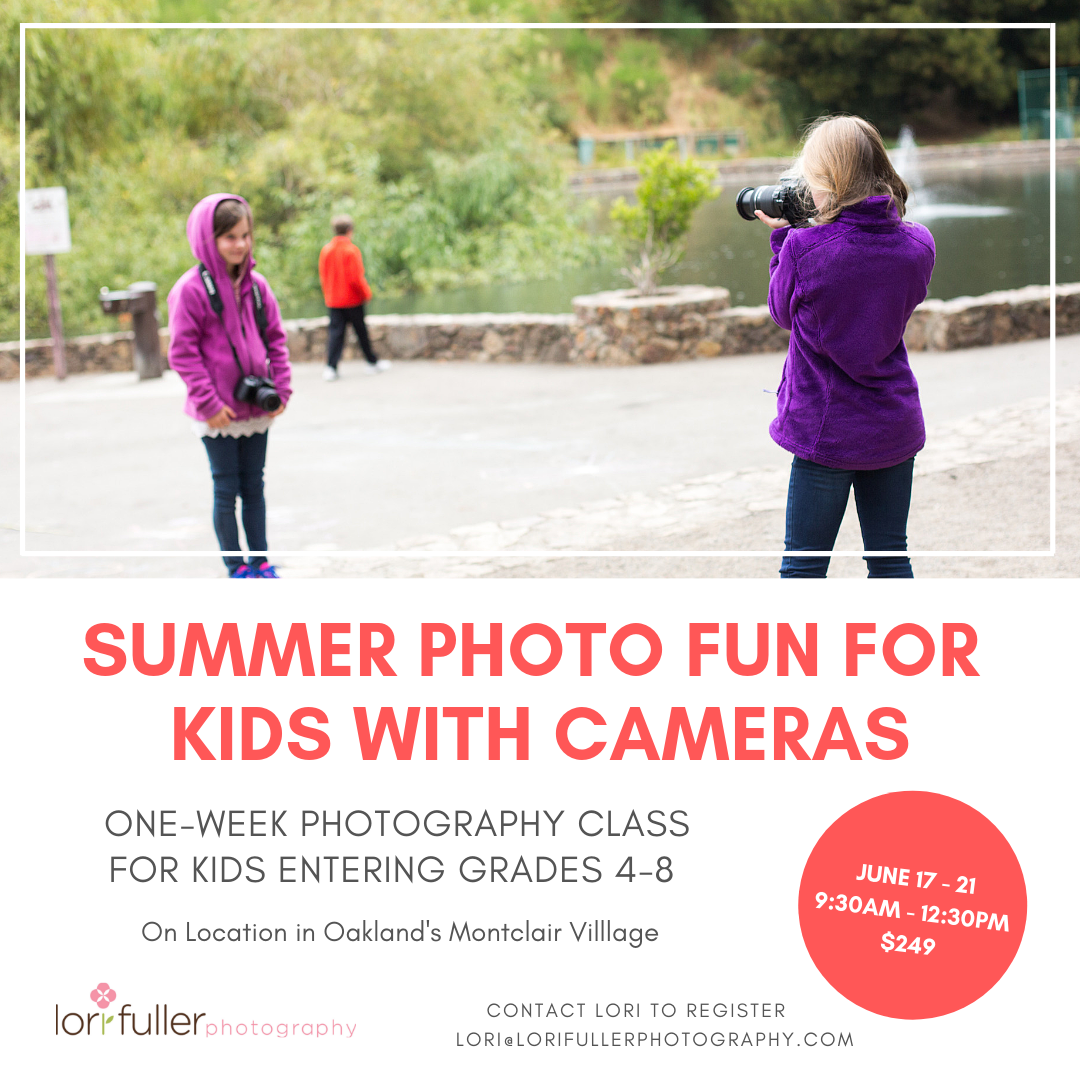 Photography camp for kids in Oakland CA
