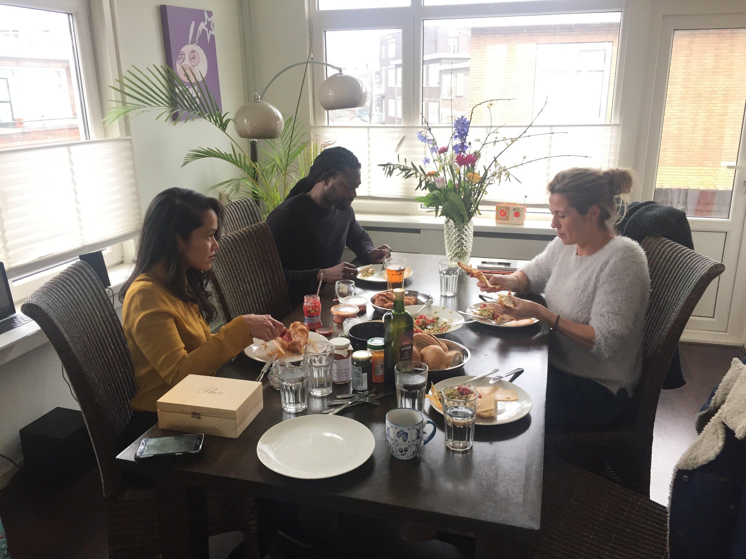 Lunchen bij Vanessa in Rotterdam