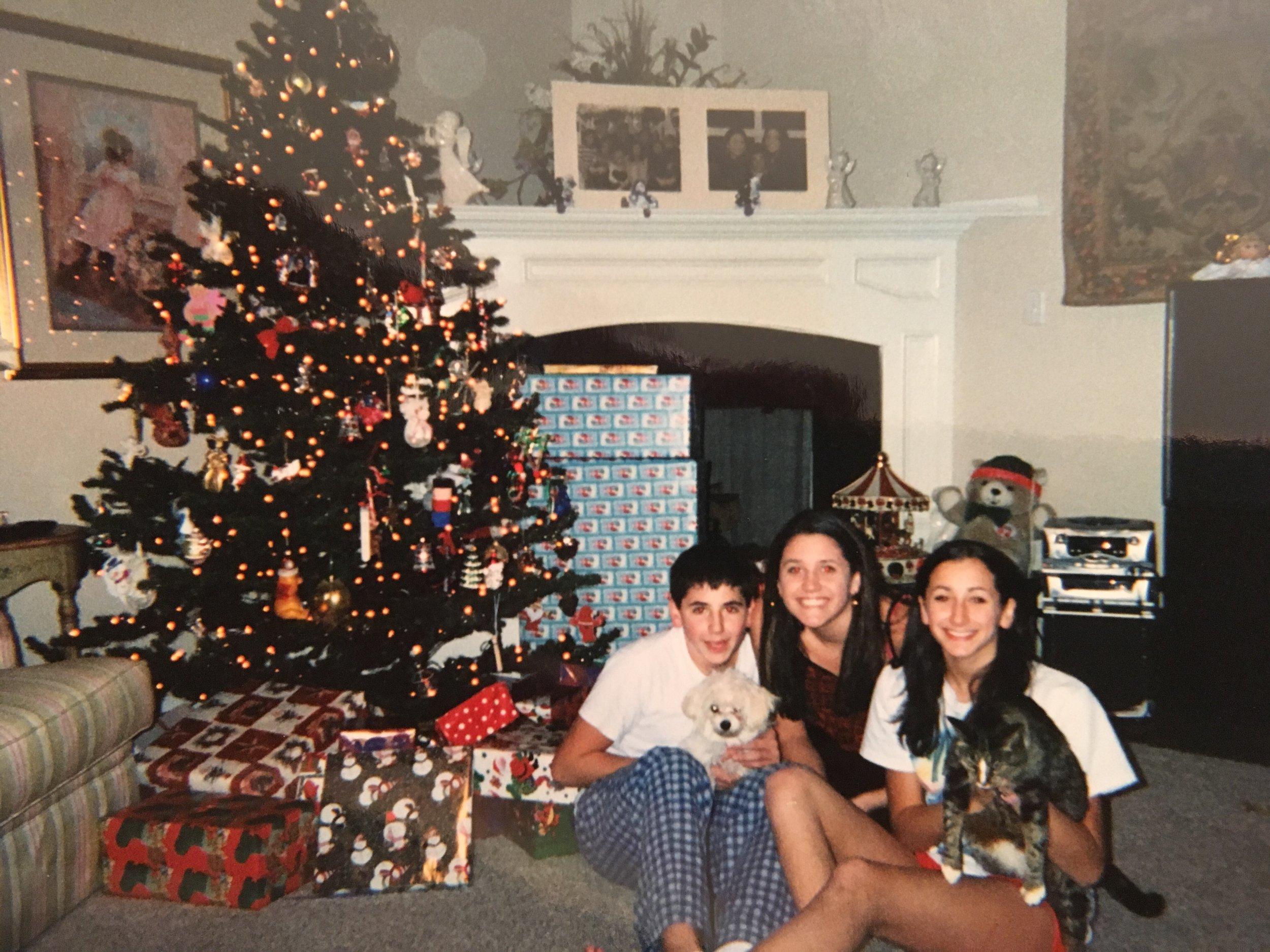 Tashman Family Christmas, 2000