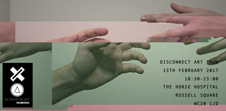 Disconnect art show poster
