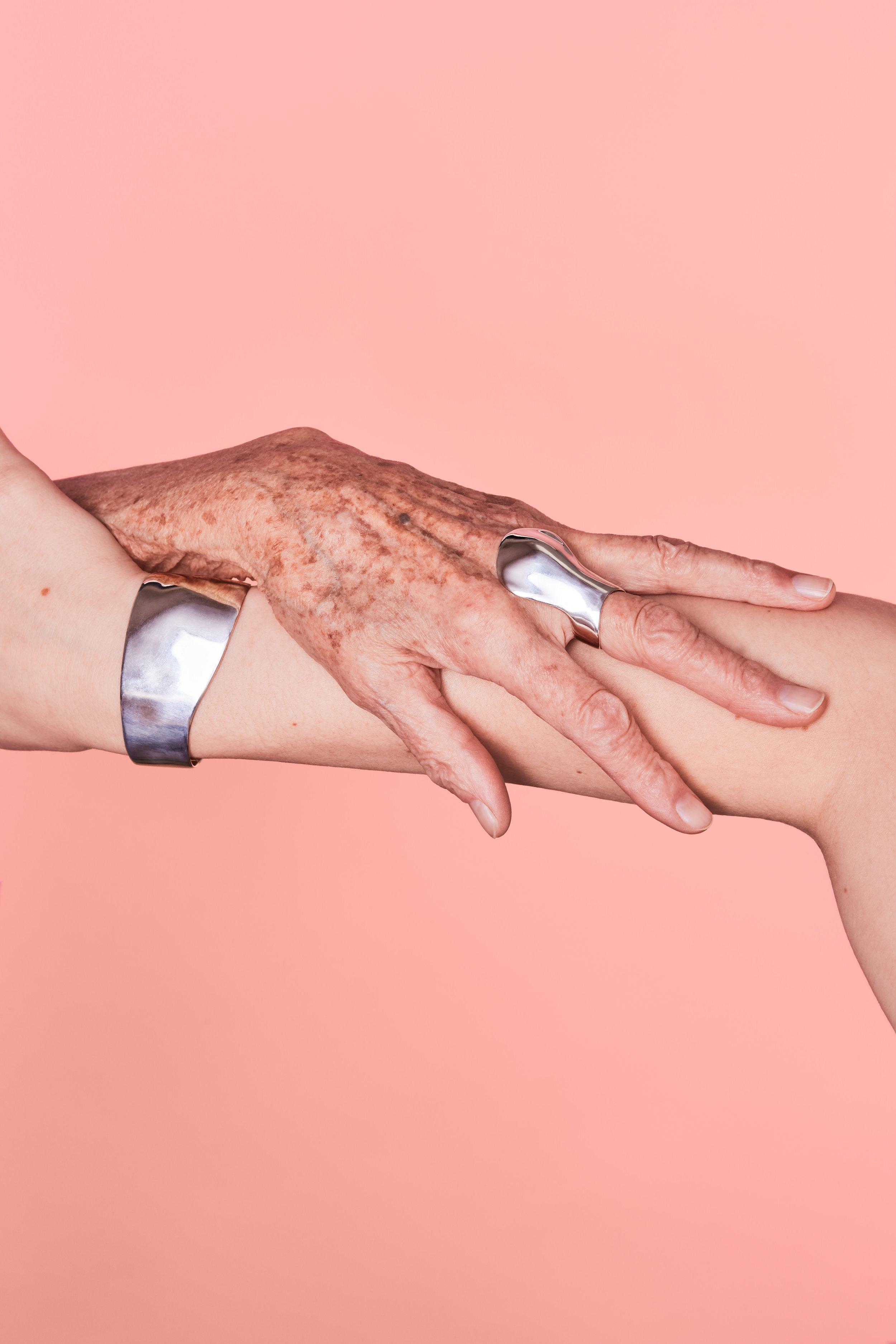 Marija Puipaitė - Embracing Touch Jewellery, Image courtesy of Form&Seek.