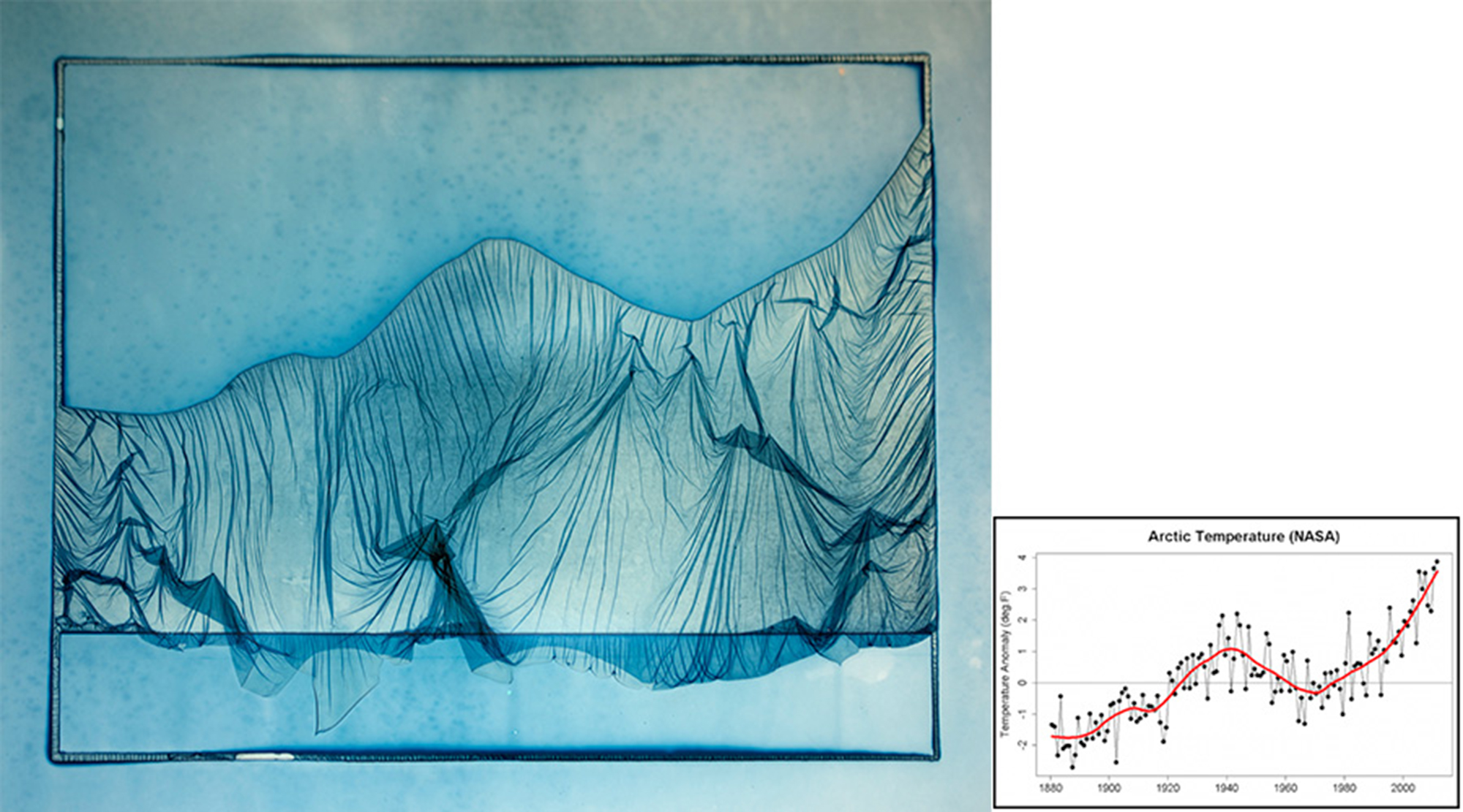 1 - mp-1 - Arctic temperature (NASA) - from the series MELTING POINT.jpg