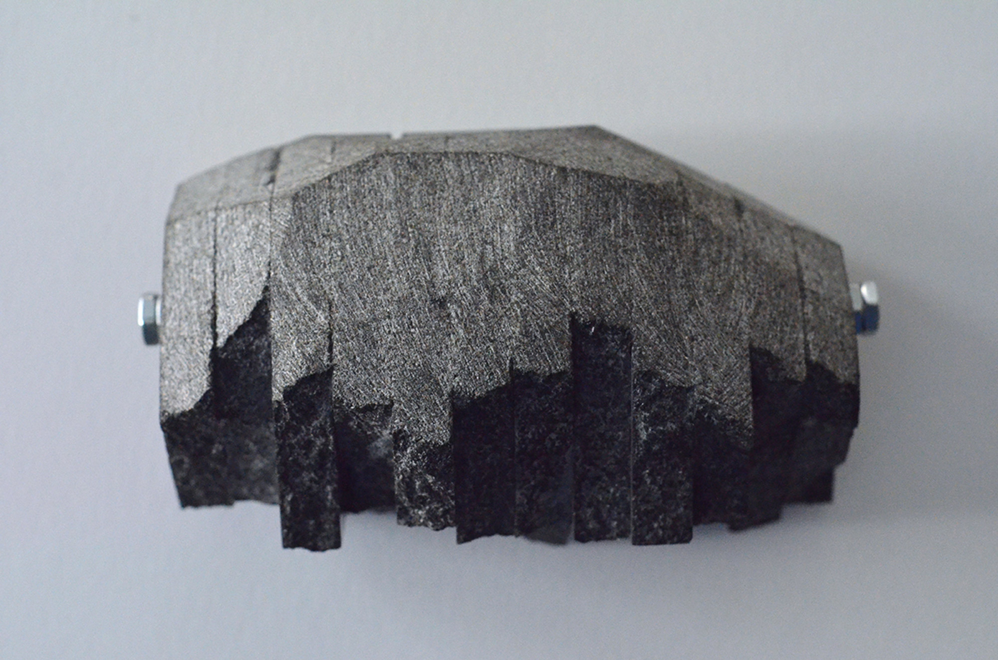 IMPLEMENTS-FOR-FUTURE-GLACIAL-SCOURING---RECONSTRUCTED-GRANITE-BOULDER-(2016).jpg