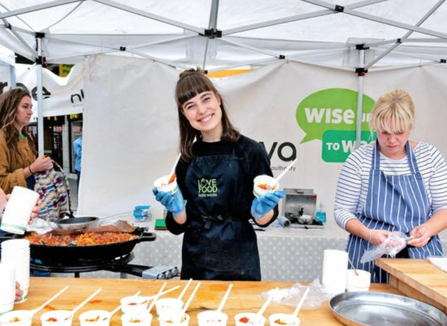 Waste Less Lunch Free - Hackney
