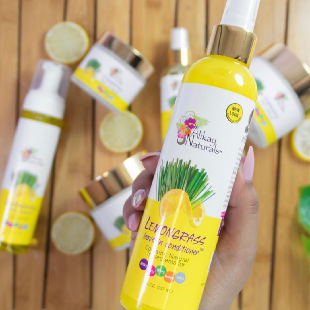 Lemongrass leave-in conditioner, Source:  Alikay Natural