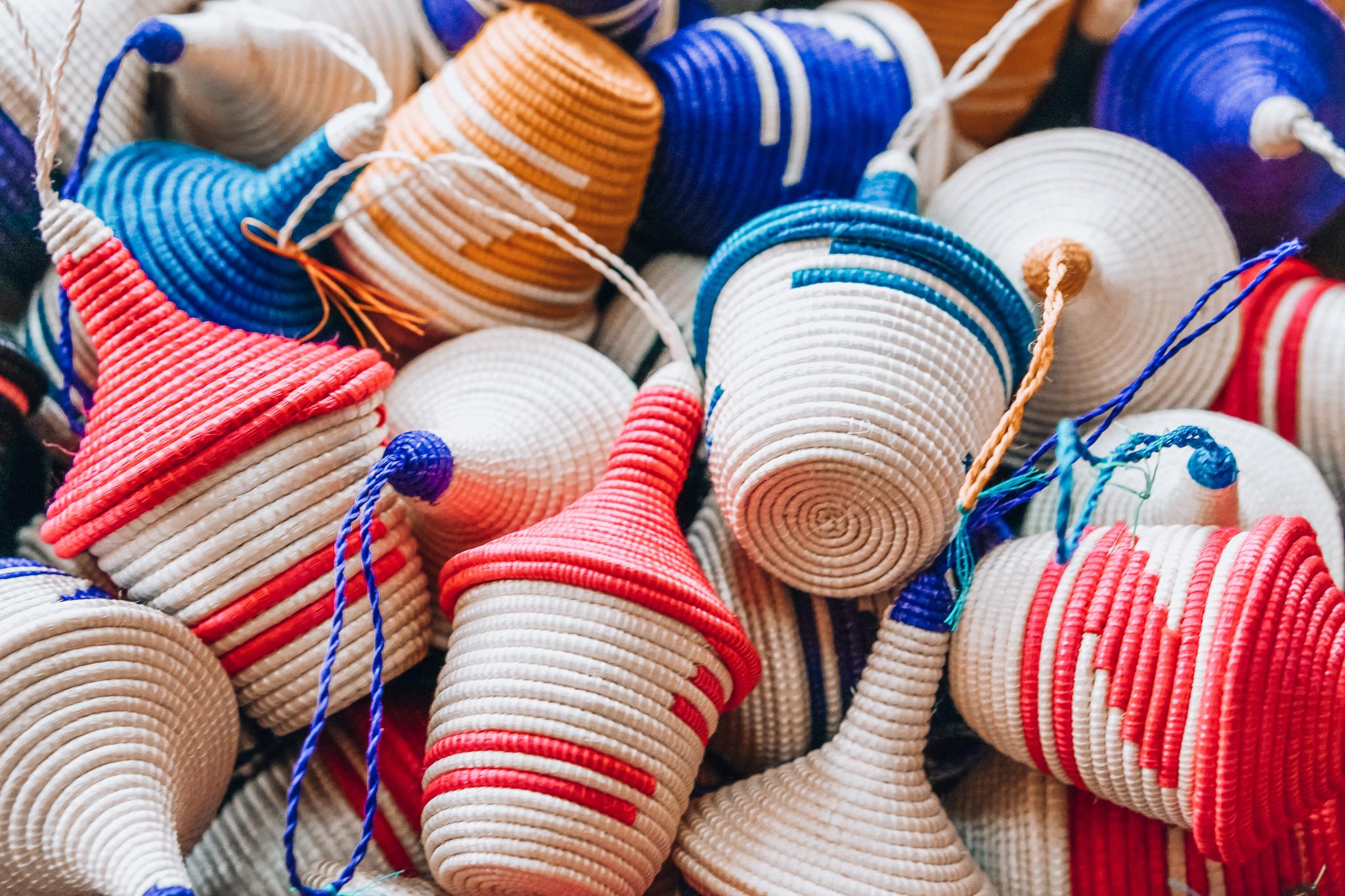 Rwanda Woven Ornaments
