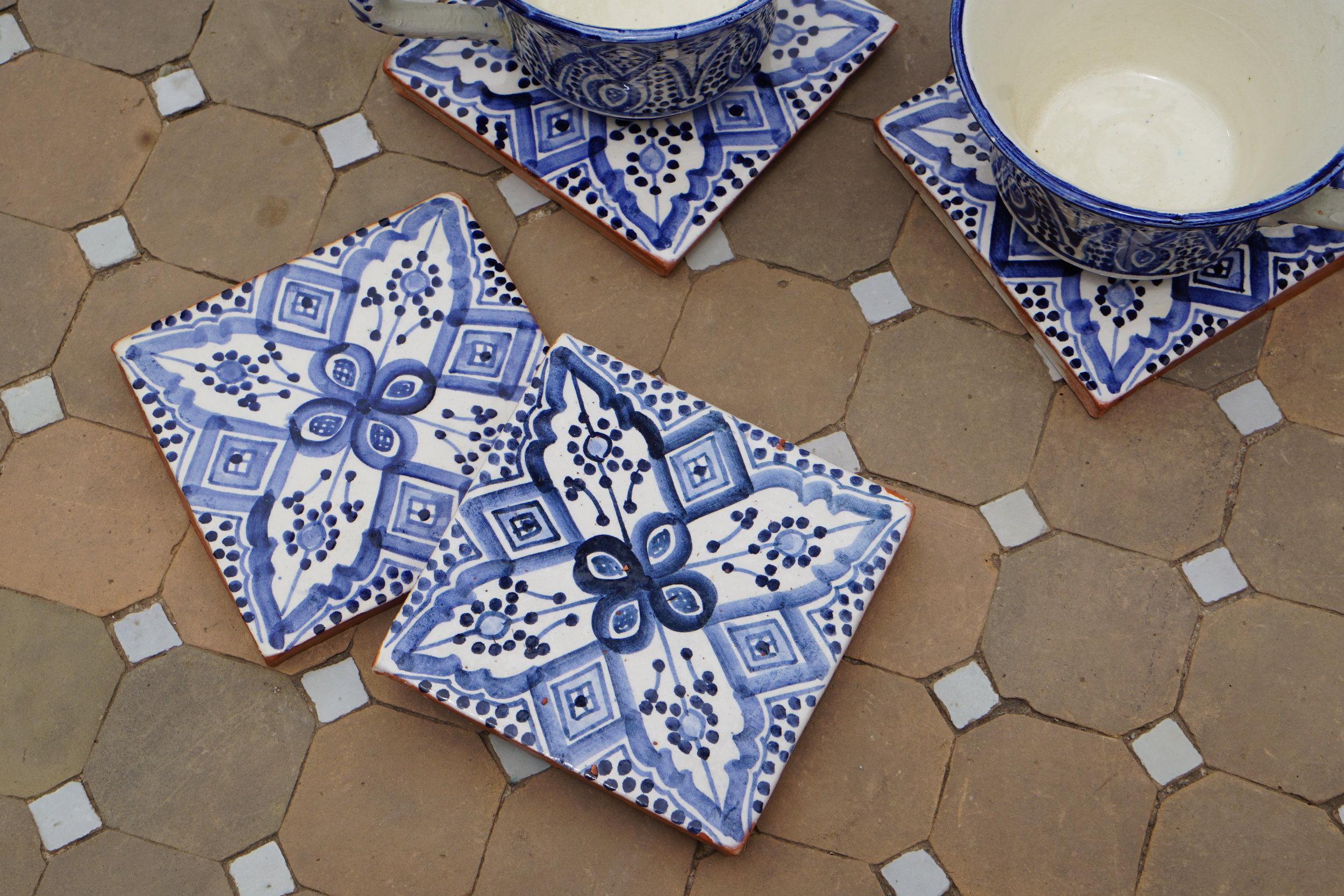 Moroccan Coasters