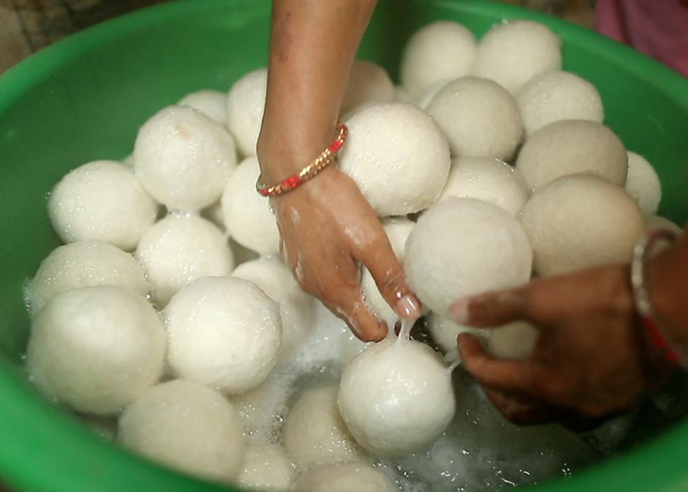 Nepal Dryer Balls handmade