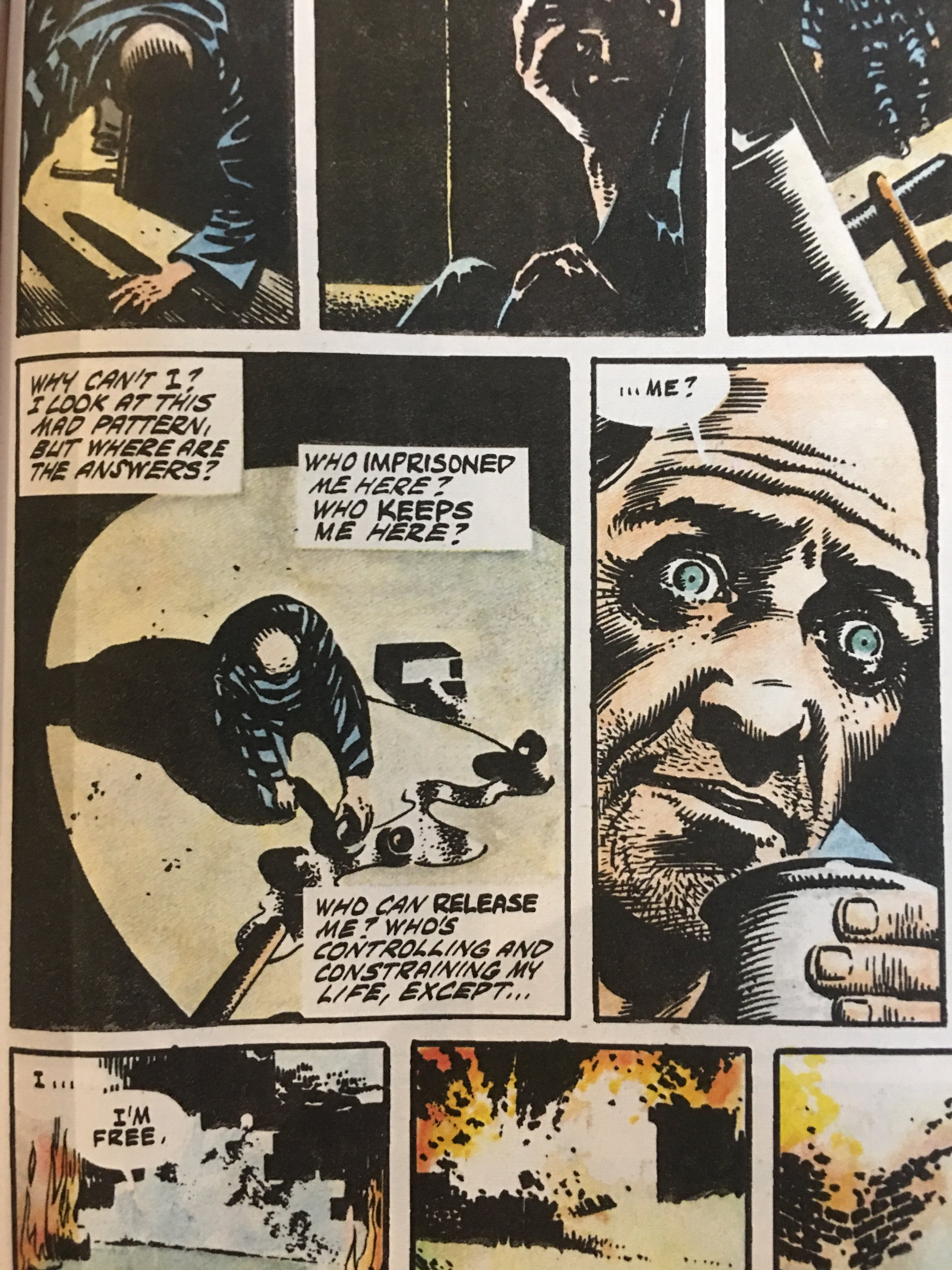 V for Vendetta - (Moore 215).