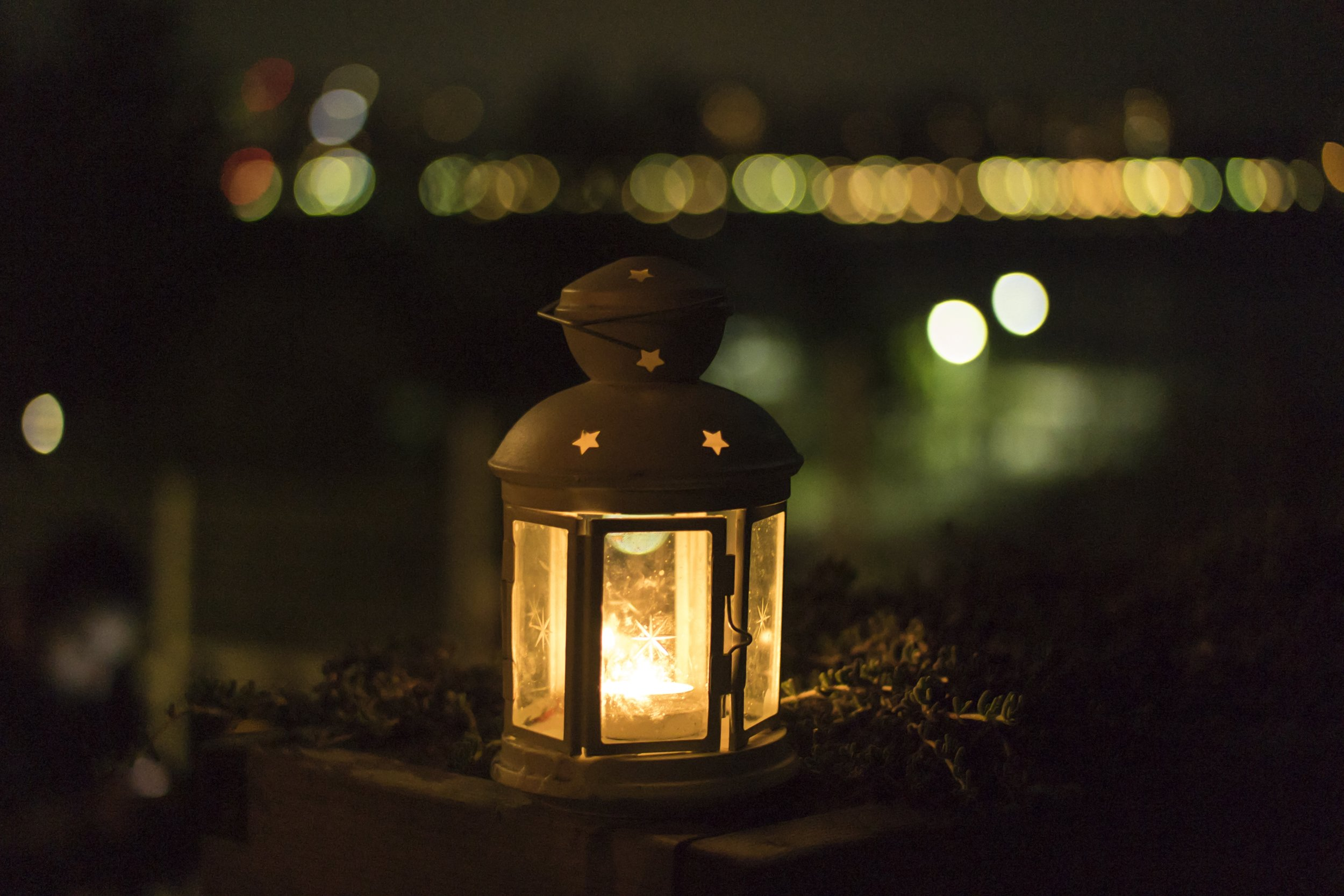 Candlelight offers instant hygge.