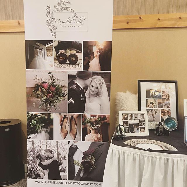 We're ready for a great day here at the Tie The Knot Wedding Fair in Eau Claire!