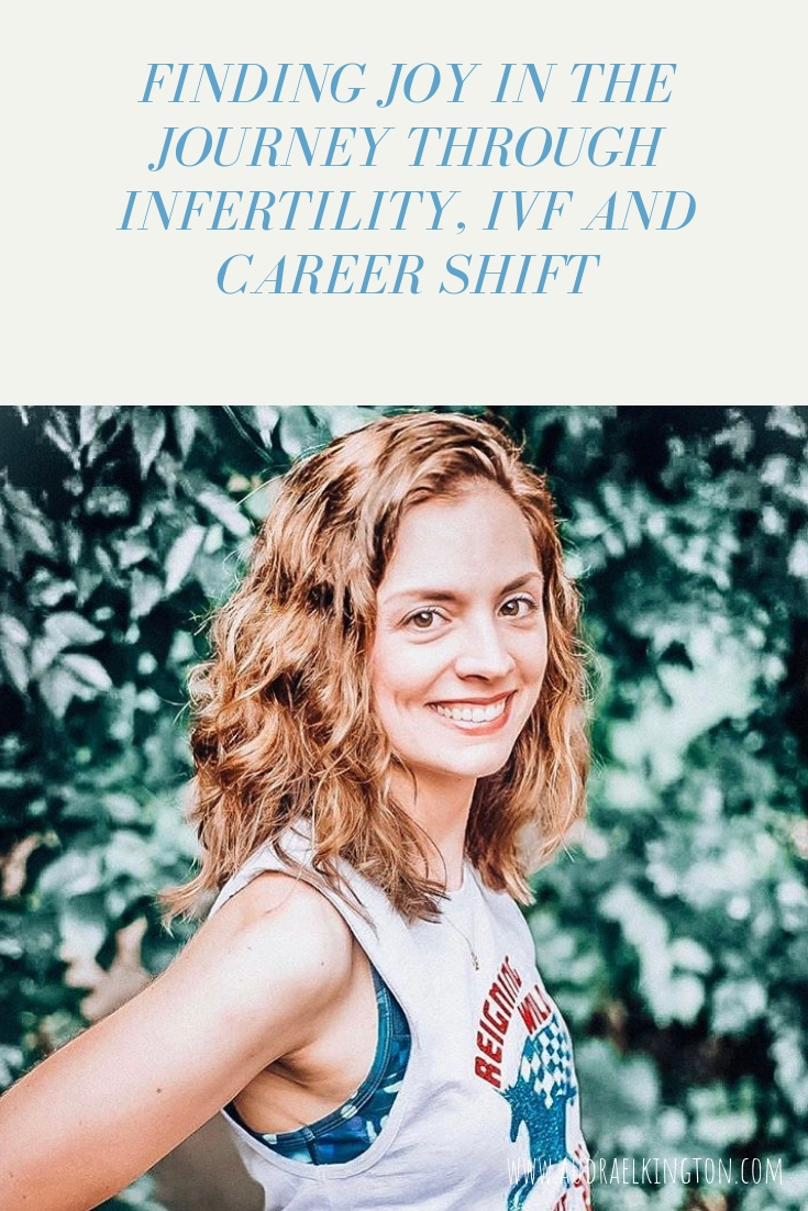 a story of infertility ivf and career shift