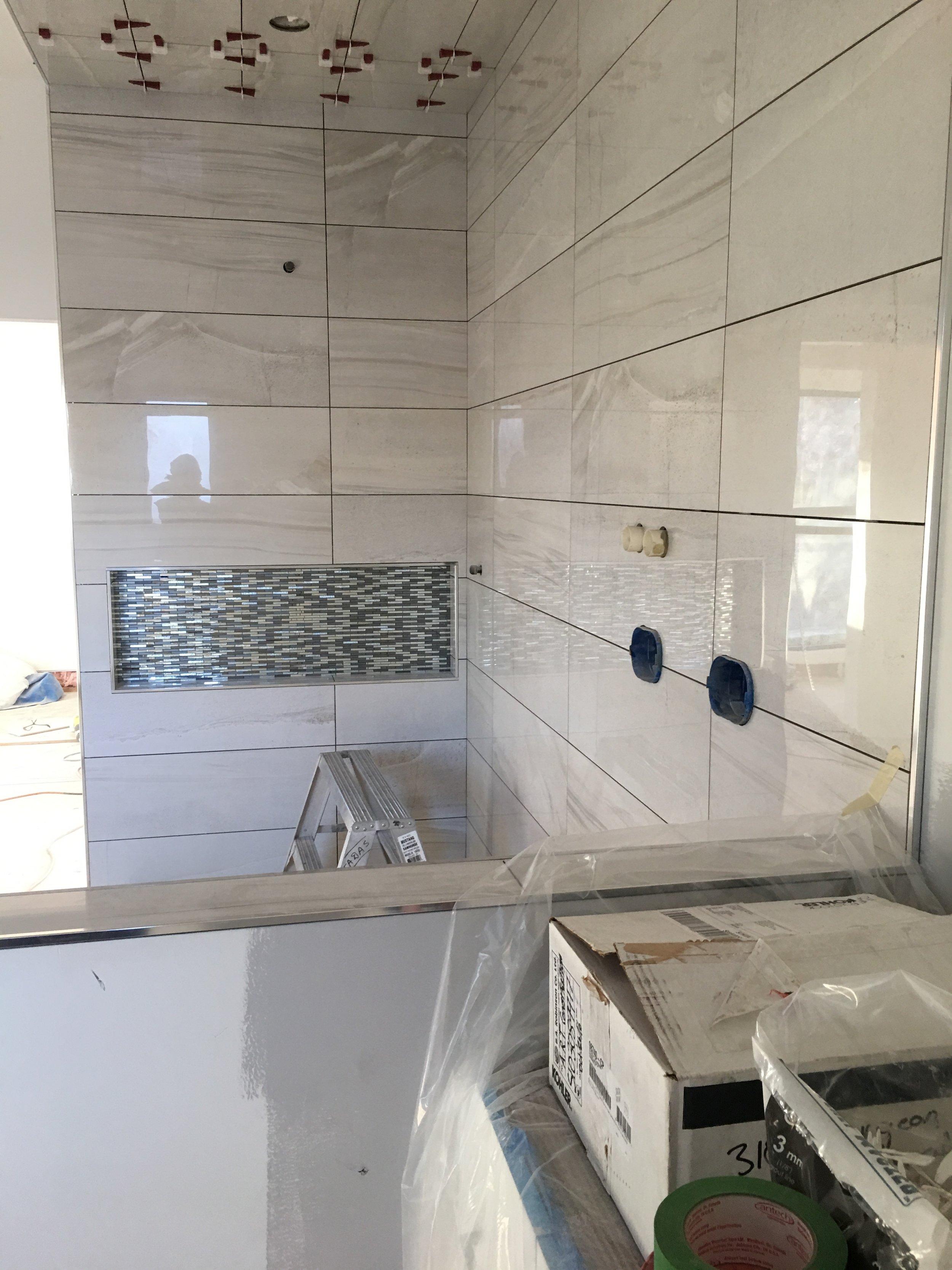 Master ensuite bathroom. 9 foot shower!