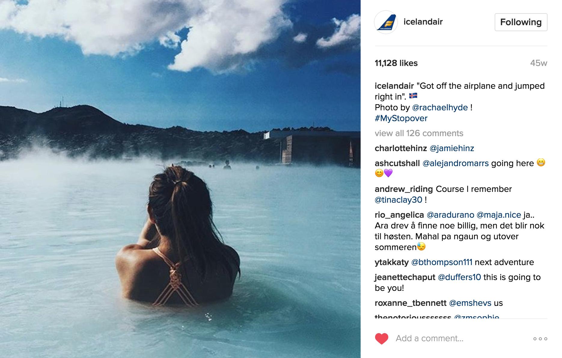 Iceland Air Instagram