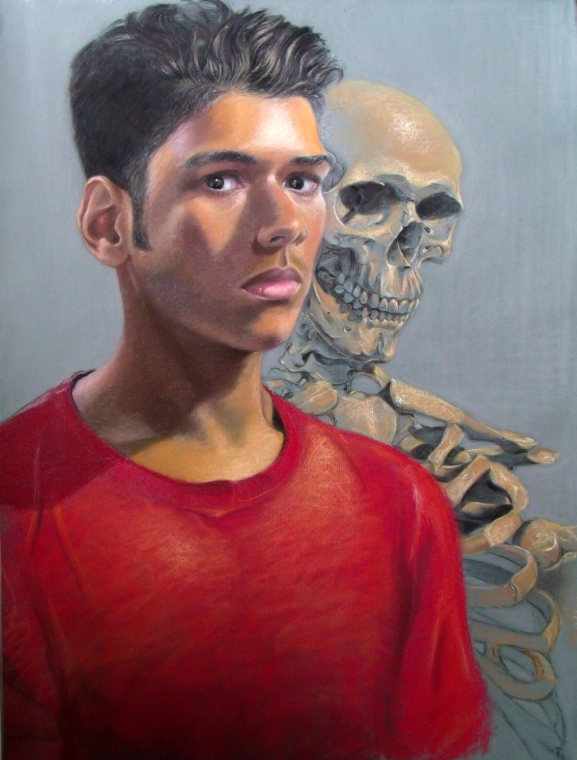 Self, pastel on paper, 19 x 25 inches, 2016 copy.jpg