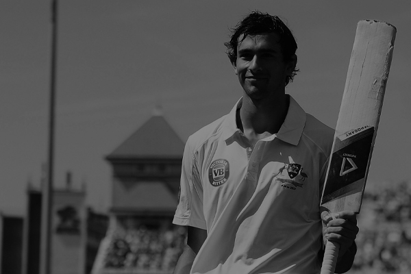 2013 - AMBASSADOR ASHTON AGAR IS THE PRINCE OF NOTTINGHAM SCORING 98 ON DEBUT IN THE 1ST ASHES TEST WITH HIS MAHOGANY IN HAND