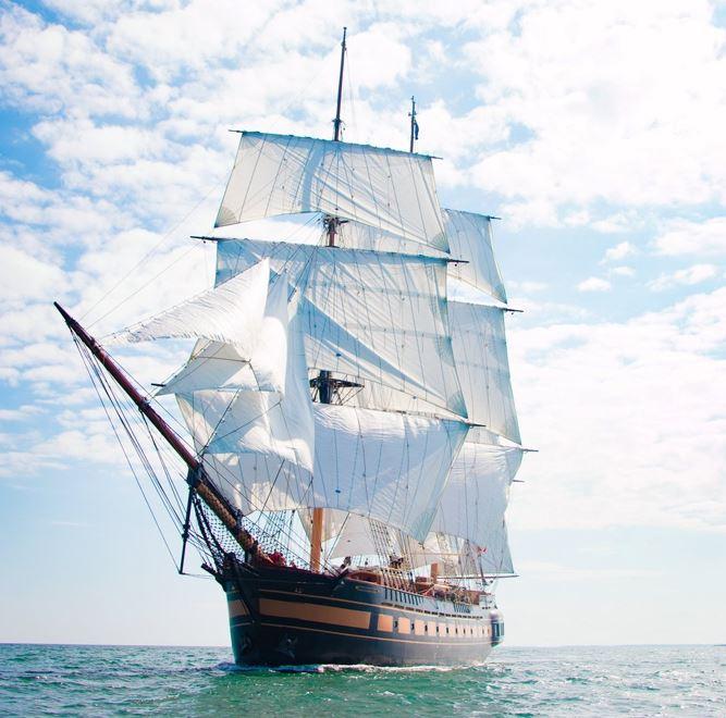 Volunteer aboard the Sailing School Vessel OLIVER HAZARD PERRY  -