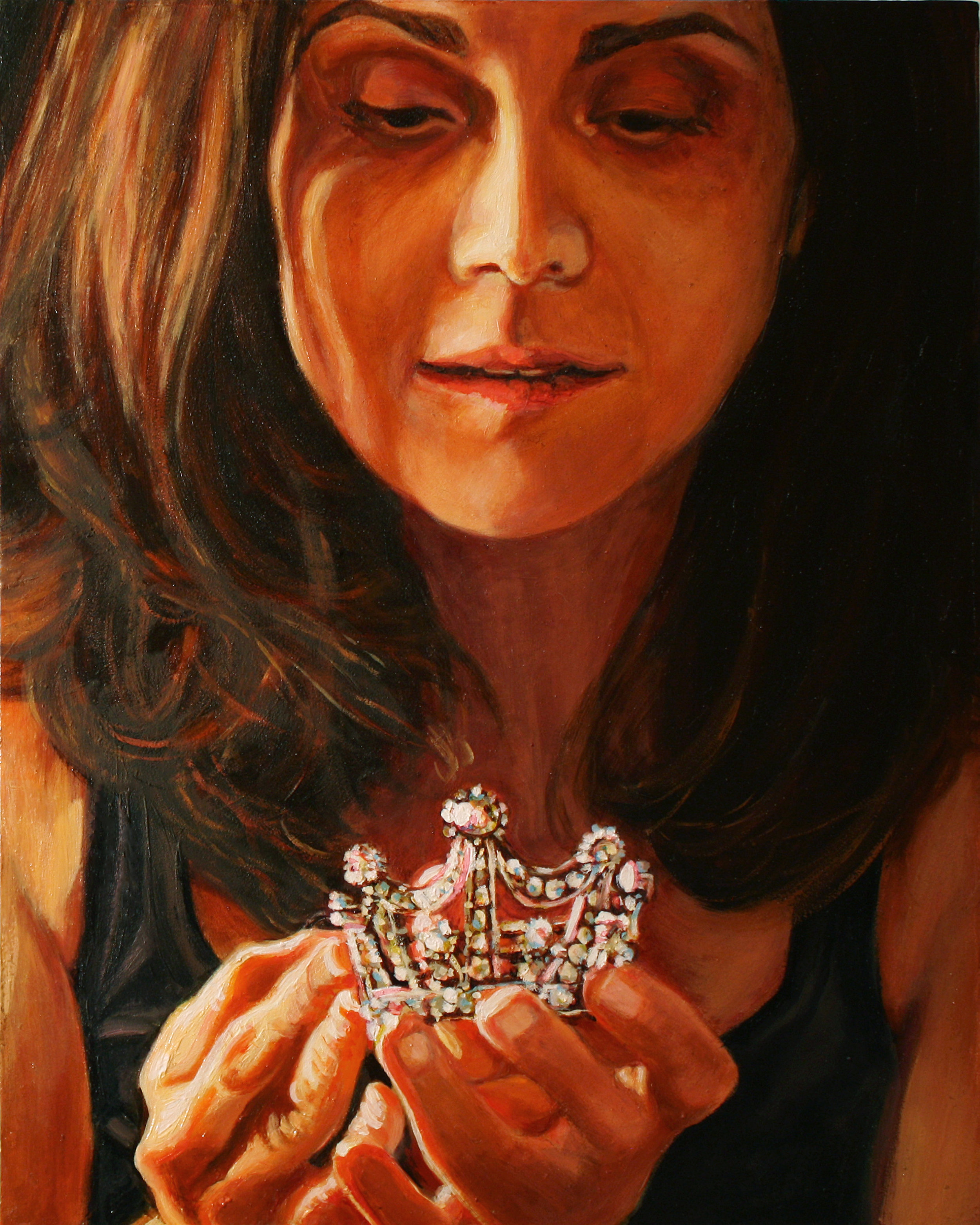 Small Passion © 2011 Oil on panel 10 x 8""