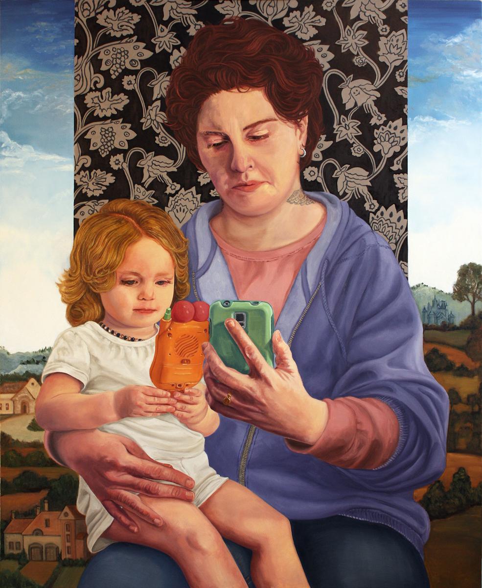 """The Fruits of Contemplation,""©2015 Lisa Ficarelli-Halpern"