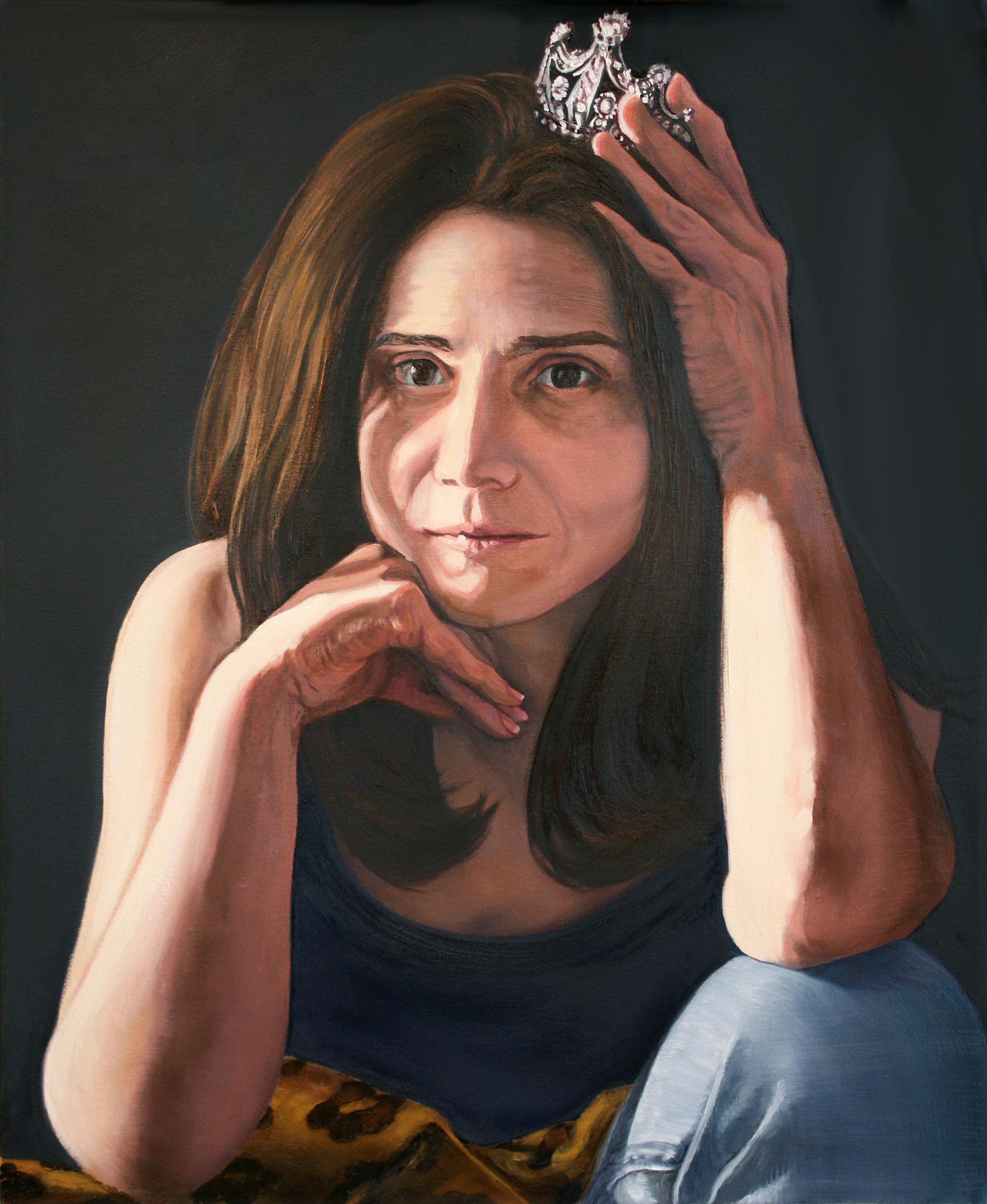 """""""Portrait of Lisa,""""©2016 Lisa Ficarelli-Halpern"""