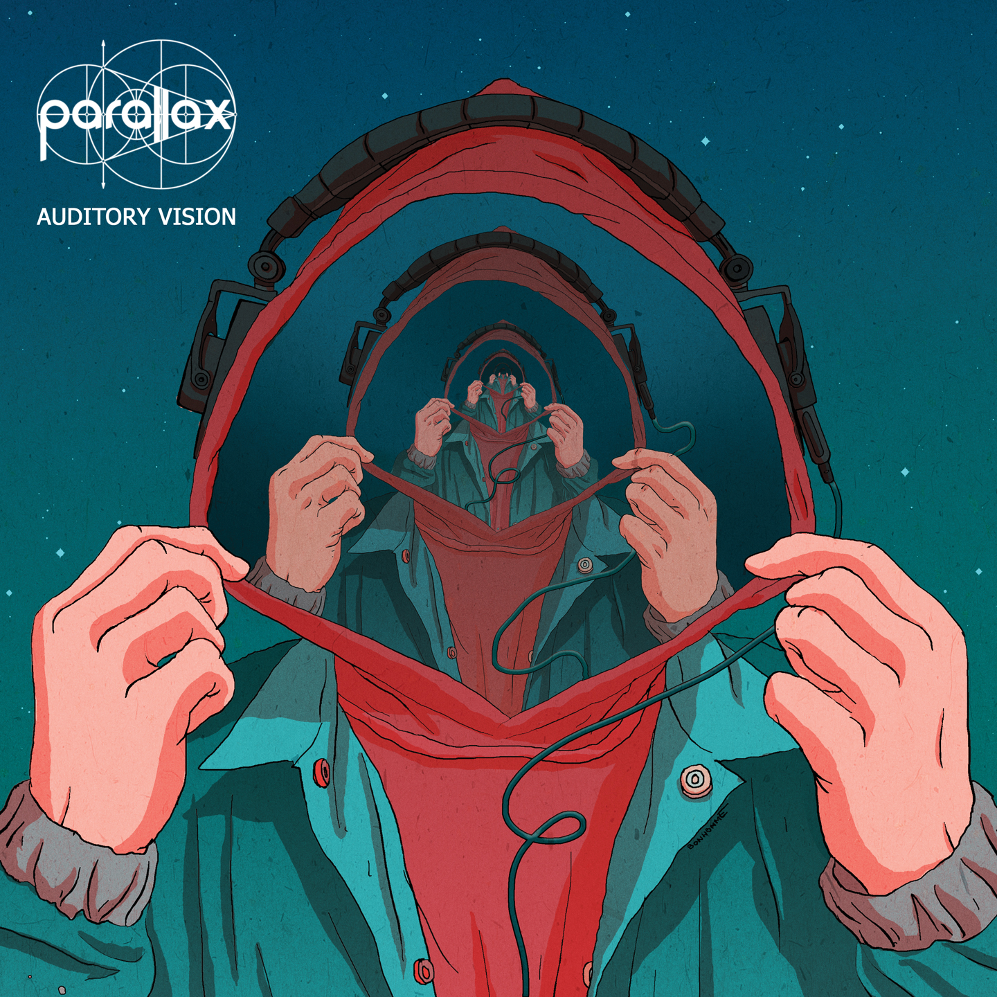 "Auditory Vision - Parallax's highly anticipated debut LP was released Independently in December of 2018 with features from Rakaa Iriscience of Dilated Peoples, Pheonix Da Icefire, C.A.M, Tiece & Lydia O.'""A high energy sonic journey painted with vivid penmanship on social commentary and personal struggles, Parallax tells relatable tails from life in London over a landscape of both hard hitting and laid back production"" Stimulateyoursoul.com"