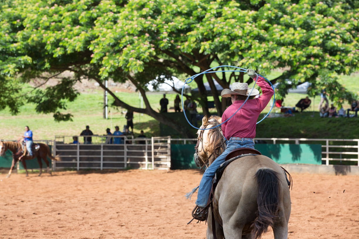 The bi-annual Hana Ranch Rodeo provides guests an opportunity to learn about authentic Hawaiian paniolo culture.