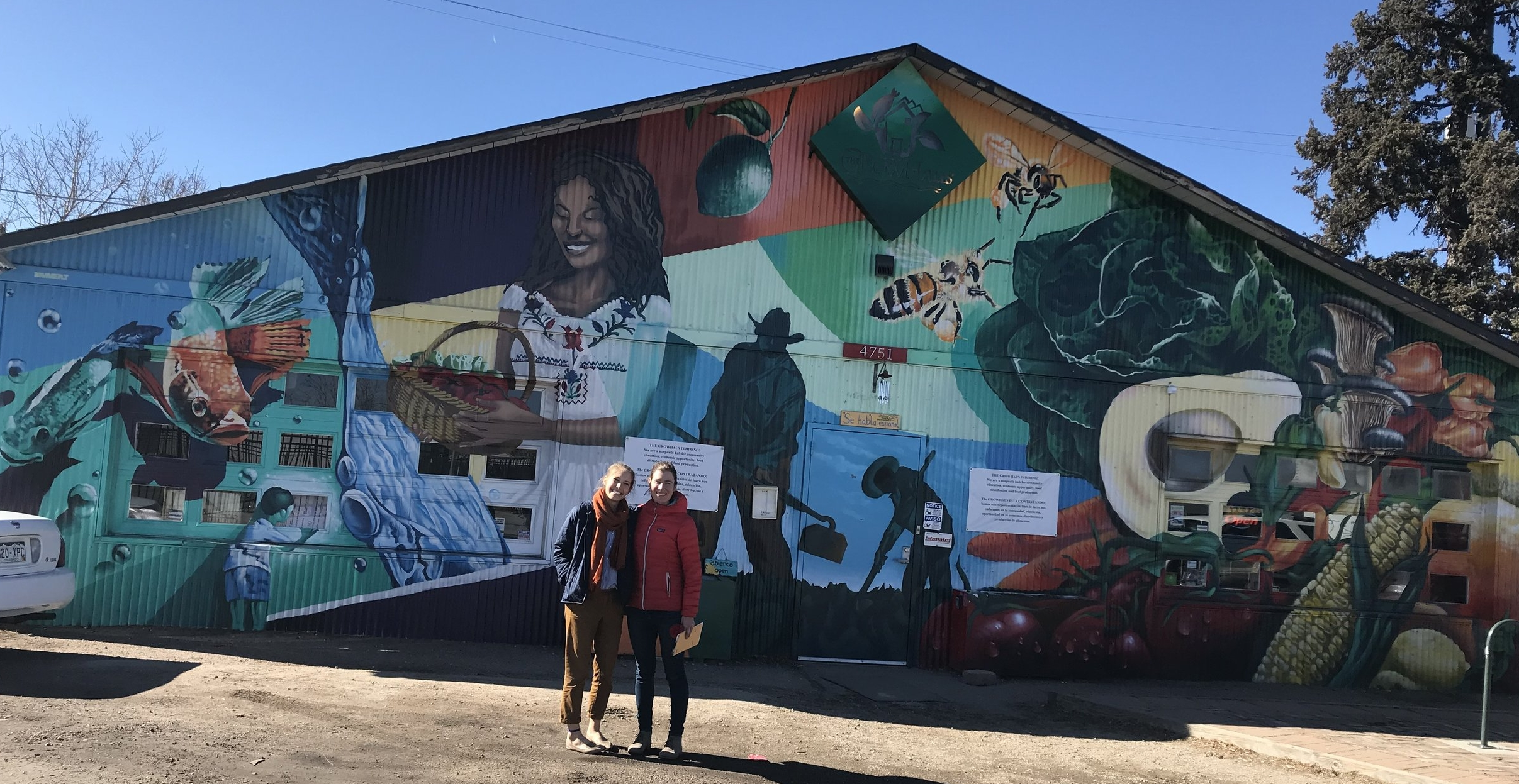Kristen and Meriwether visit the GrowHaus in Denver.