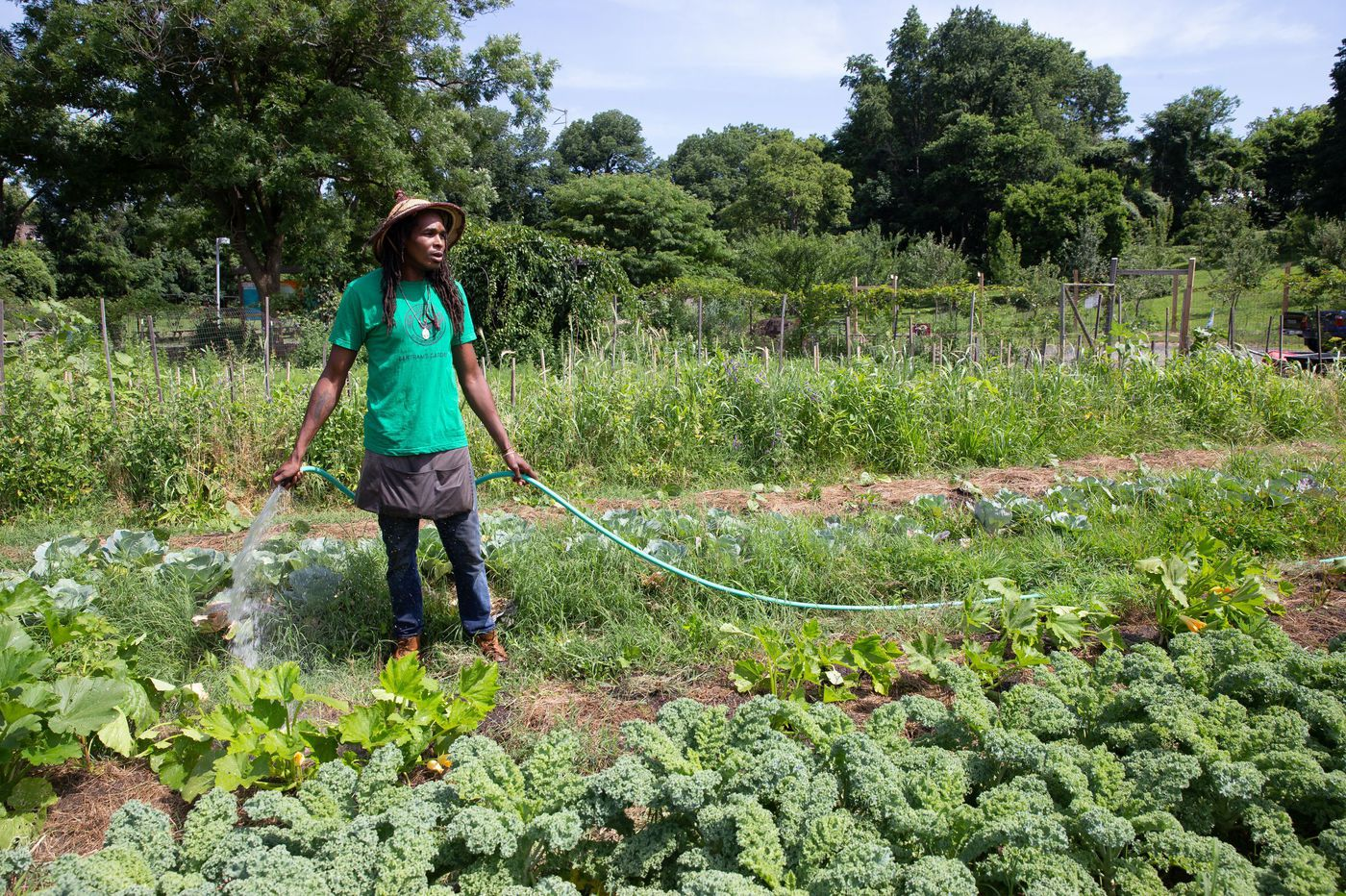 An urban farm in Philadelphia | Photo credit: Jessica Griffin, The Philadelphia Inquirer